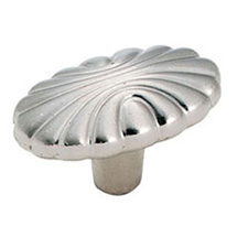 Amerock BP1338-G9 Natural Elegance Collection Oval Shell Knob - 1 9/16