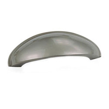 59340 64MM CUP PULL-GEO DES-FLAT PEWTER