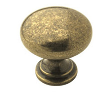 Amerock BP53023-BB Allison Value Hardware Collection Knob - 1 1/4