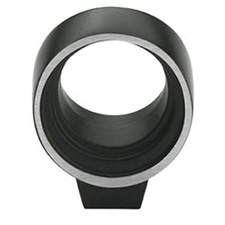 Amerock BP53045-SBK Sonara Collection Galleria Amulent Knob - 27mm - Silvered Black