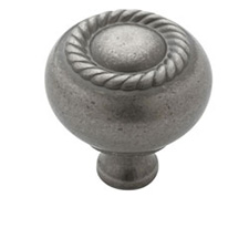 Amerock BP53471-WN Allison Value Hardware Collection Knob - 1 1/4
