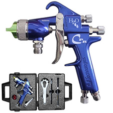 CA Technologies H2O-CPR Compliant Waterbourne Pressure Reduced Spray Gun Pack