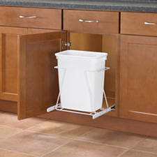 Waste Bins (White Finish)