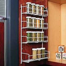 Knape & Vogt SD-1 Wire Spice Rack (Chrome)
