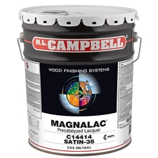 M.L. Campbell C14414.5 Magnalac Pre-Catalyzed Lacquer - Satin Finish