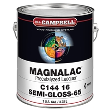 M.L. Campbell C14416.1 Magnalac Pre-Catalyzed Lacquer - Semi-Gloss Finish