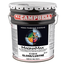 M.L. Campbell C14818.5 MagnaMax Hi-Solids Water White Pre-Catalyzed Clear Lacquer - Glossy Finish