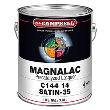 M.L. Campbell C14414.1 Magnalac Pre-Catalyzed Lacquer - Satin Finish