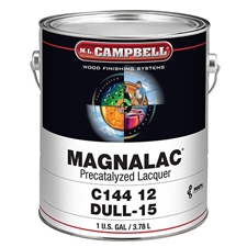 M.L. Campbell C14412.1 Magnalac Pre-Catalyzed Lacquer - Dull Finish