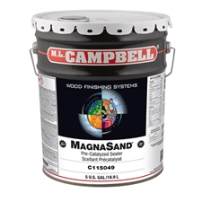 ML Campbell C115049 MagnaSand Pre-Catalyzed Lacquer Sealer - 5 Gallon Pail
