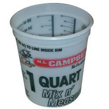ML Campbell 1 Quart (28oz) Campy Mixing Cup - single cup