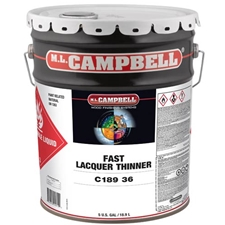 M.L. Campbell C189 36 5 Fast Lacquer Thinner 18.9L