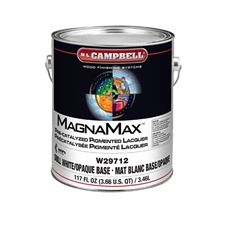 M.L. Campbell W29712.1 MagnaMax Pre-Catalyzed Pigmented Lacquer - Dull Finish - 1 Gallon
