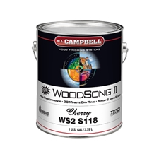 M.L. Campbell WS2S118 WoodSong II 30 Minute Dry Time 10% Spray & Wipe Stain - Cherry