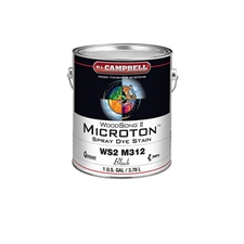 M.L. Campbell WS2 M312.1 WoodSong II Microton Spray Dye Stain - Black