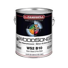 M.L. Campbell WS2 B10 WoodSong II 10% Solids Stain Base - 1 Gallon
