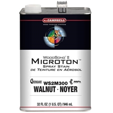 M.L. Campbell WS2 M300.1 WoodSong II Microton Spray Dye Stain - Walnut