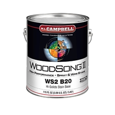 M.L. Campbell WS2 B20 WoodSong II 20% Solids Stain Base - 1 Gallon