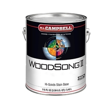 M.L. Campbell WS2 SB2 WoodSong II 2.5% Spray Only Stain Base - 1 Gallon