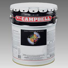 M.L. Campbell WS2S119 WoodSong II 30 Minute Dry Time 10% Spray & Wipe Stain - Early America - 5 Gallons
