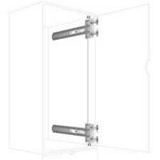 Knape & Vogt 8092P EB 20 - Heavy Duty Pocket Door Slide - with KV Hinge Base - 20