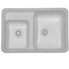Concord Acrylic Sink White
