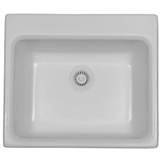 Mayfair Acrylic Bisque Single Bowl Sink