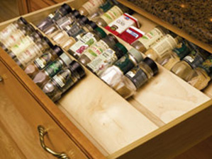 Omega National Products S9560DNL1 Spice Drawer Insert 60