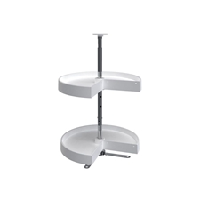 Rev A Shelf LD-2942-18-15-1 Polymer (Pie Cut Shape - Double Shelf)