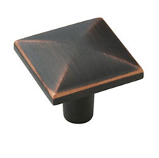 Amerock BP29370-ORB Extensity Collection Square Knob - 1 3/16