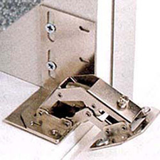 Rev A Shelf 6552-ETH-11-10 Sink-Front Tip-Out Tray Hinges, End Caps, & Adhesive
