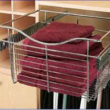 Rev A Shelf 5130-CR-33 Pull-Out Chrome Basket - 33