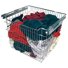 Rev A Shelf CB-181407CR Pull-out Wire Basket for Closet - Chrome - 18