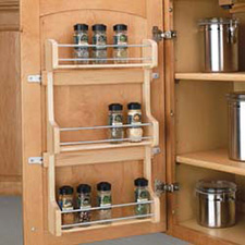 Rev A Shelf 4SR-18 Door Storage Spice Rack Wall Accessories