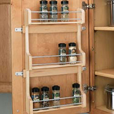 Rev A Shelf 4SR-15 Door Storage Spice Rack Wall Accessories