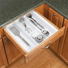 Rev A Shelf GUT-15W-52 Cut-To-Size Insert Utensil Organizer for Drawers - 14 3/4