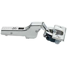 BLUM 71B3680 Blumotion Partial Overlay Press-in Hinges with 110 Degree Opening Angle