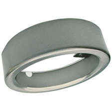METAL SURFACE MOUNT RING, NICKEL
