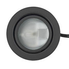 "Tresco 20W Xenon Metal Light, Black, Frosted Glass, 79"" (2 m) Lead"