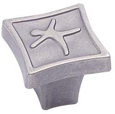 Amerock BP4446-WC Motif'z Square Knob - 1 1/8