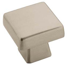 Amerock BP55271-G10 Blackrock Collection Standard Square Knob - 1 3/16