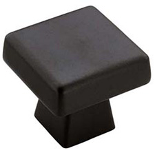 Amerock BP55273-BBR Blackrock Collection Oversized Square Knob - 1 1/2