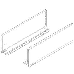 Blum Legrabox Pure 770C3502S  Drawer Side Height-C 350 mm (14 inches) Orion Grey - Pair