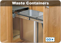Kitchen Pull Out Waste & Recycling Containers - Canada