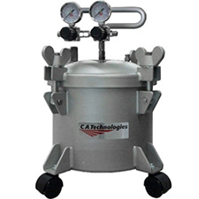 C.A. Technologies 51-802 2.5-Gallon Double Regulated Stainless Steel Pressure Tank