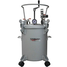 C.A. Technologies 51-502 5 Gallon Double Regulated Tank with Hand Agitation