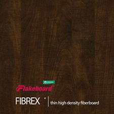 Arauco - Sable Glow Fibrex 3mm G1S 48x96