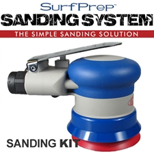 SurfPrep SPSS3 3-Inch Hook & Loop Random Orbital Sander System Kit