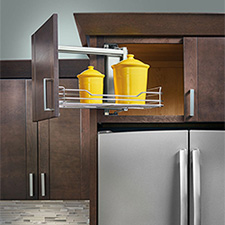 Rev-A-Shelf - 5708-15CR - 15'' Above Appliance Pull-Out Organizer