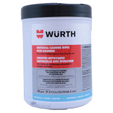 Wurth 0890900901083 Universal Scrubbing Wipes - 90 pieces